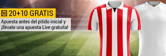 Bwin Athletic - Marsella 20+10 gratis