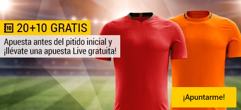 Bwin Portugal - Holanda apuesta 20€ y llevate 10€