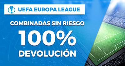 Paston Europa League combinadas sin riesgo 100% devolucion