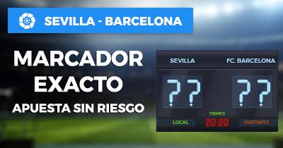 Noticias Apuestas, Paston Sevilla - Barcelona Apuesta sin riesgo