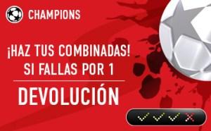 Sportium Champions Combinadas devolución