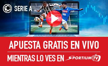 Noticias Apuestas Sportium Serie A, apuesta gratis en vivo mientras lo ves en Sportium TV!