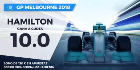 Noticias Apuestas Supercuota Paston F1 GP Melbourne Hamilton gana a cuota 10.0