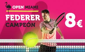 Noticias Apuestas Supercuota Wanabet Open Miami Federer Campeon