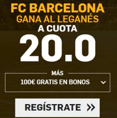 Noticias Apuestas Supercuota Betfair la Liga Barcelona - Leganes