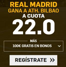Noticias apuestas Supercuota Betfair la Liga Real Madrid - Ath Bilbao