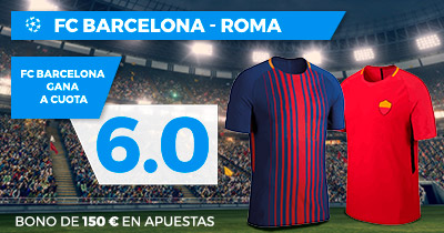 Noticias Apuestas Supercuota Paston Champions League FC Barcelona - Roma