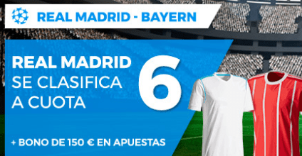 noticias apuestas Supercuota Paston Champions League Real Madrid - Bayern