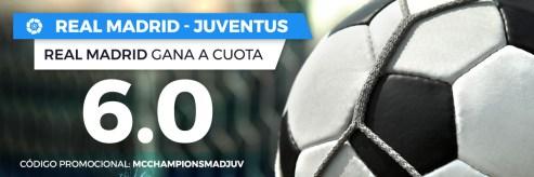 Noticias Apuestas Supercuota Paston Champions Real Madrid - Juventus