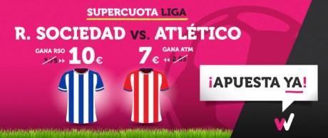 noticias apuestas Supercuota Wanabet la Liga R. Sociedad vs Atlético