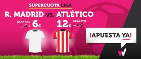 Noticias Apuestas Supercuota Wanabet la Liga Real Madrid - Atlético