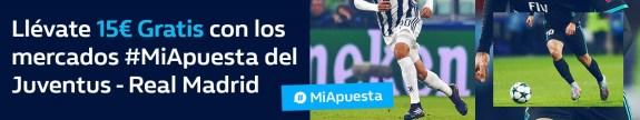 Noticias Apuestas William Hill Champions Juventus - R. Madrid 15€ gratis