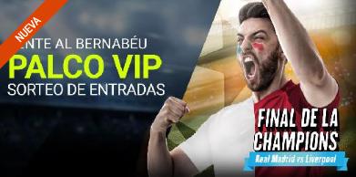 noticias apuestas Luckia sorteo entradas palco VIP Final de Champions