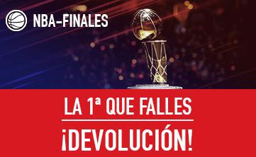 noticias apuestas Sportium NBA - Finales: Te reembolsamos la 1ª que falles