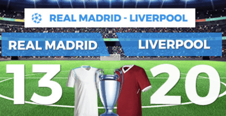noticias apuestas Supercuota Paston Final Champions Real Madrid - Liverpool