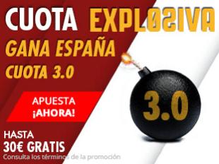 noticias apuestas Suertia Cuota Explosiva Gana España cuota 3.0