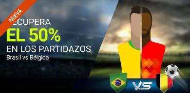 noticias apuestas Luckia Brasil vs Bélgica