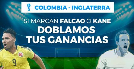 noticias apuestas Paston Colombia - Inglaterra, Si Marcan Falcao o Kane doblamos tus ganancias