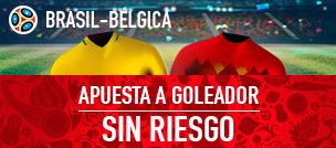 noticias apuestas Sportium Brasil-Bélgica: Apuesta a Goleador y si fallas ¡Devolución!