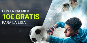 Con la Premier 10€ gratis para la liga en Luckia