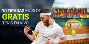 10 tiradas gratis aen tragaperras,gracias al tenis en vivo en Luckia