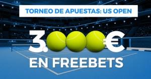 Torneo de apuestas:US Open con 3000€ a repartir en Paston
