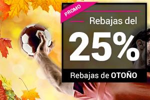 Promocion rebaja 25% Goldenpark