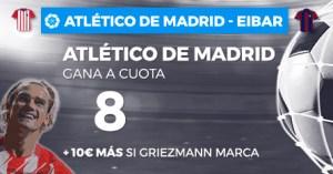 Megacuota 8 para At Madrid en Paston