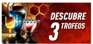 El triplete,rasca tres trofeos y consigue premio seguro en Sportium