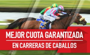 Mejor cuota garantizada en carerras de caballos en Sportium