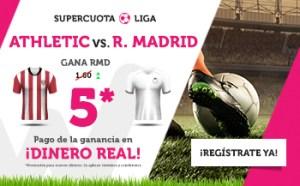 Megacuota 5 para el R. Madrid en Wanabet