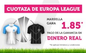 Cuotaza Europa League Marsella gana 1.85 en Wanabet