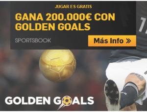 Gana 200.000€ con golden goals en Betfair