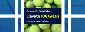 Promocion bola extra llevate 10€ gratis con William Hill