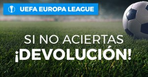 Europa League sino aciertas devolucion en Paston