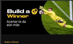 Build a winner,acertar te da aun mas en Bwin