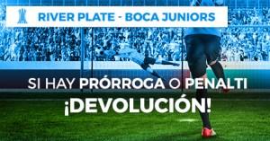 River-Boca Juniors si hay prorroga o penalti devolucion en Paston