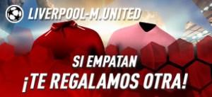 Liverpool-Manchester U. si empatan devolucion en Sportium