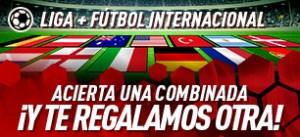 Liga+futbol internacional acierta una combinada y te regalamos otra en Sportium