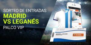 Sorteo de entradas R. Madrid-Leganes en Luckia