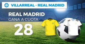 Megacuota 28 gana Real Madrid en liga con Paston