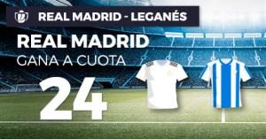 Megacuota 24 Madrid gana a Leganes en Paston