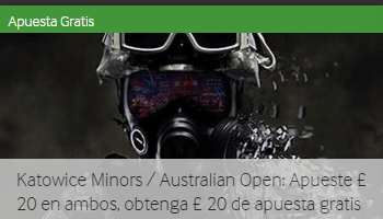 20€ gratis por apostar en el abierto de Australia y The Katowice Minors en Betway