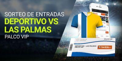Sorteo de entradas Depor-Las Palmas en Luckia