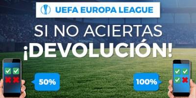 Europe League si no aciertas devolucion con Paston