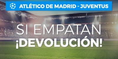 At Madrid-Juventus si empatan devolucion en Paston