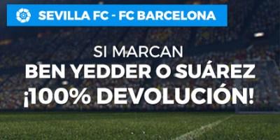 Sevilla-Barcelona si marcan Ben Yedder o Suárez ¡devolución! en Paston