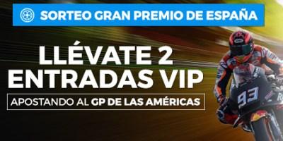 Sorteo entradas vip,gran premio España Moto GP en Luckia