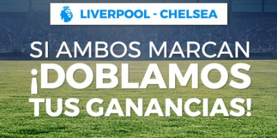 Liverpool-Chelsea,si ambos marcan doblamos tus ganancias en Paston