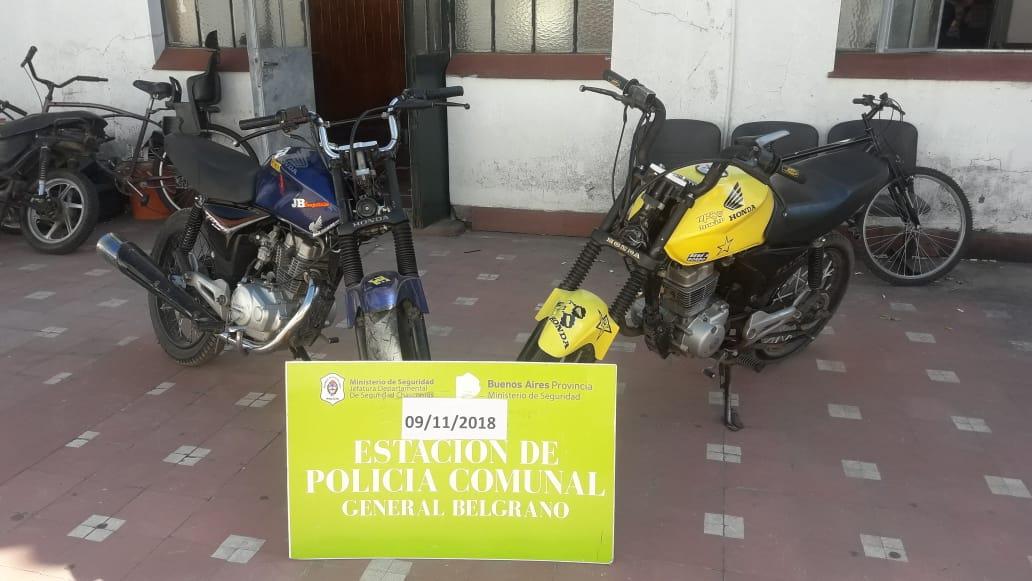 ALLANAMIENTOS Y SECUESTRO DE MOTO POR MANIOBRAS PELIGROSAS EN EL CENTRO
